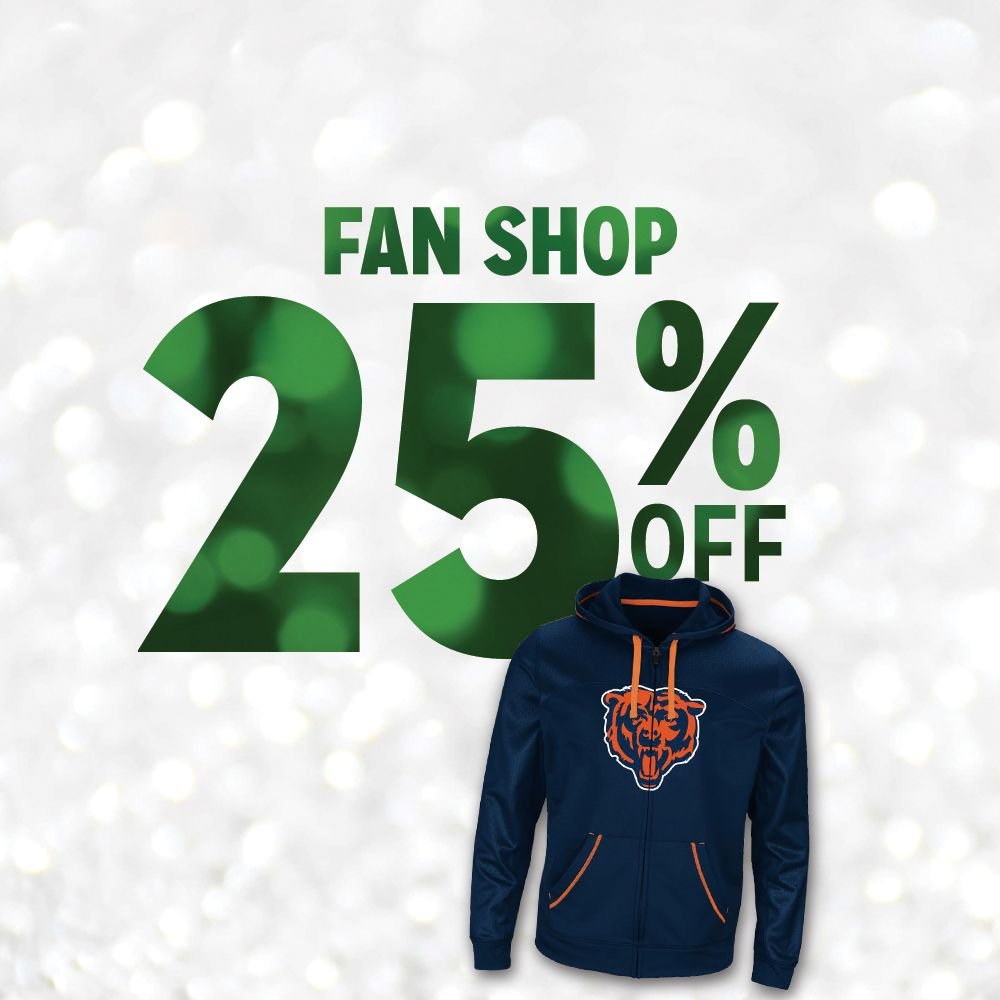 25% Off Fan Shop
