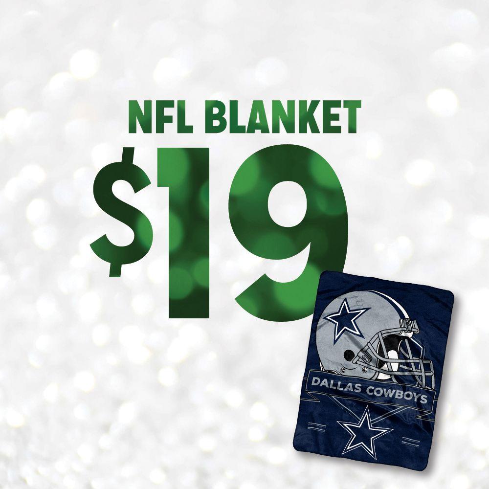 $19 Plush Blanket