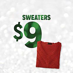 Sweaters Doorbuster