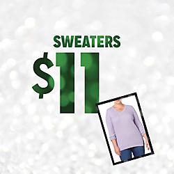 Plus Size Sweaters Doorbuster