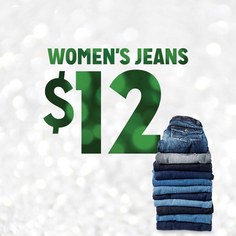 $12 Women's Jeans