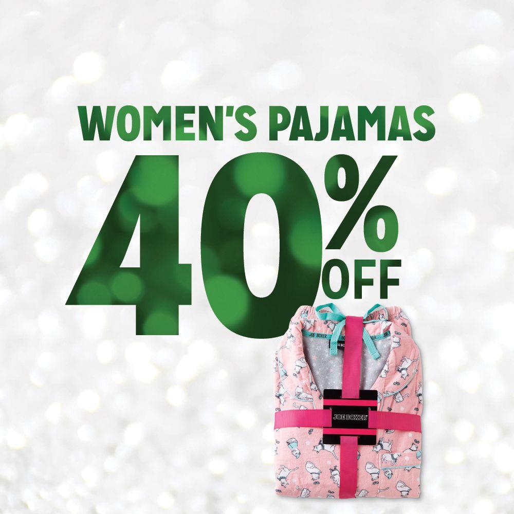 40% off Women's Pajamas