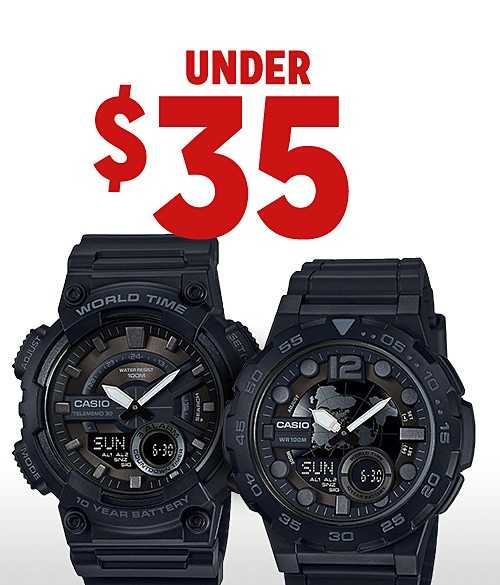 Shop watches under $35