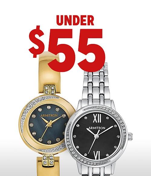 Shop watches under $55