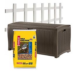 Outdoor Storage & Landscaping