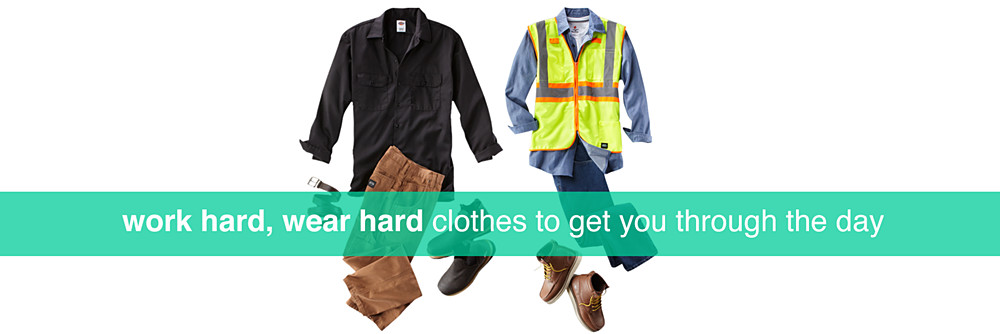 rugged and office wear for men