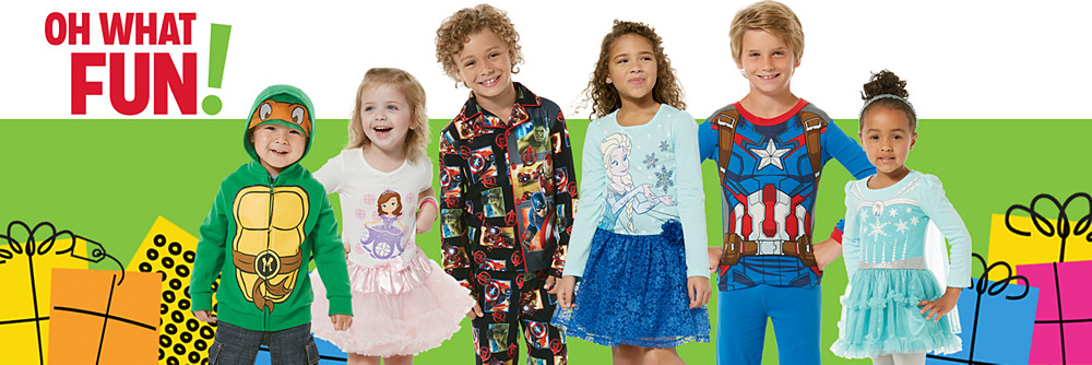 Baby & Kids Character Apparel is here