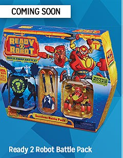 Ready to Robot Battle Pack - Coming Soon