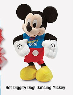 Hot Diggity Dog! Dancing Mickey