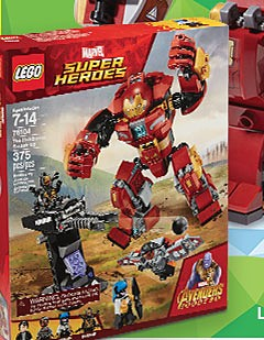 LEGO Marvel Super Heroes The Hulkbuster Smash-Up 76104