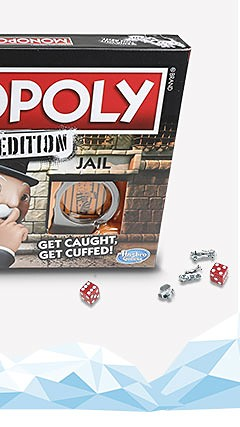 Hasbro Monopoly Game: Cheaters Edition