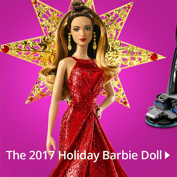 The 2017 Holiday Barbie Doll