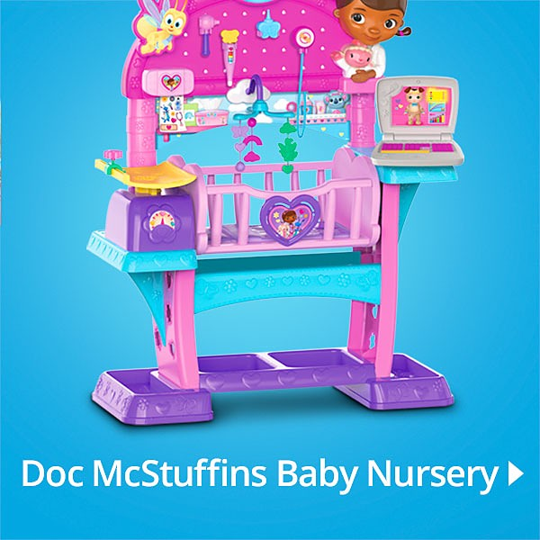 Disney Doc McStuffins Baby All in One Nursery