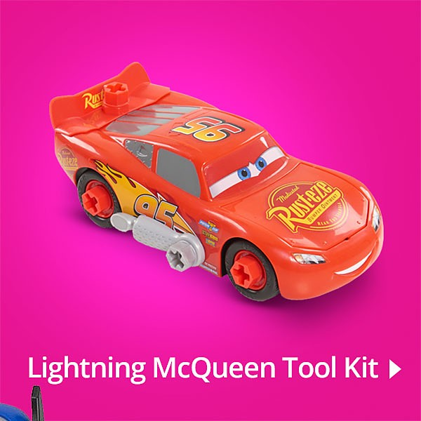 Lightning McQueen Tool Kit