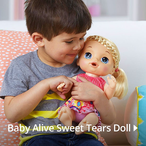 Baby Alive Sweet Tears Doll