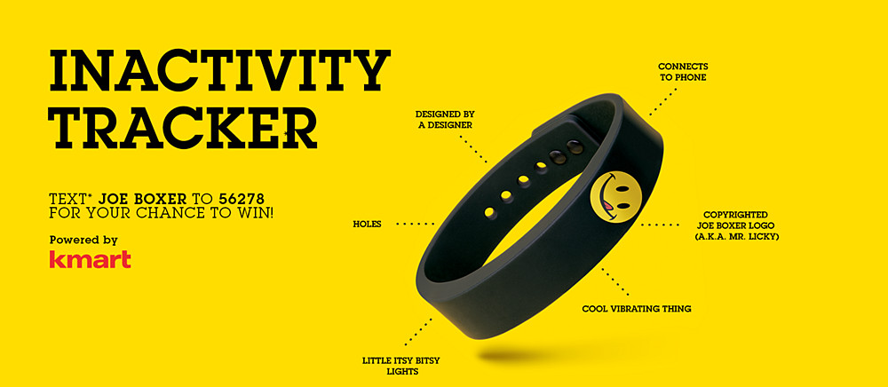 Joe Boxer's inactivity tracker is part of cheeky new marketing campaign