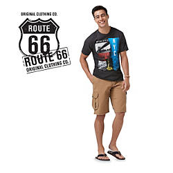 Route 66 clothing, shoes, and accessories for men