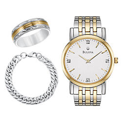 Men's Watches & Jewelry