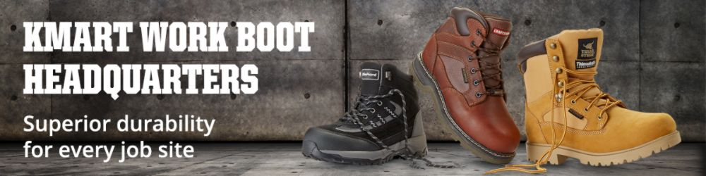 Kmart Steel Toe & Safety Boots