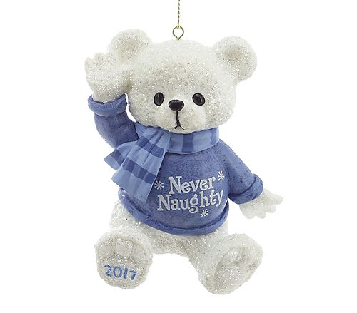 Blue Bear Ornament