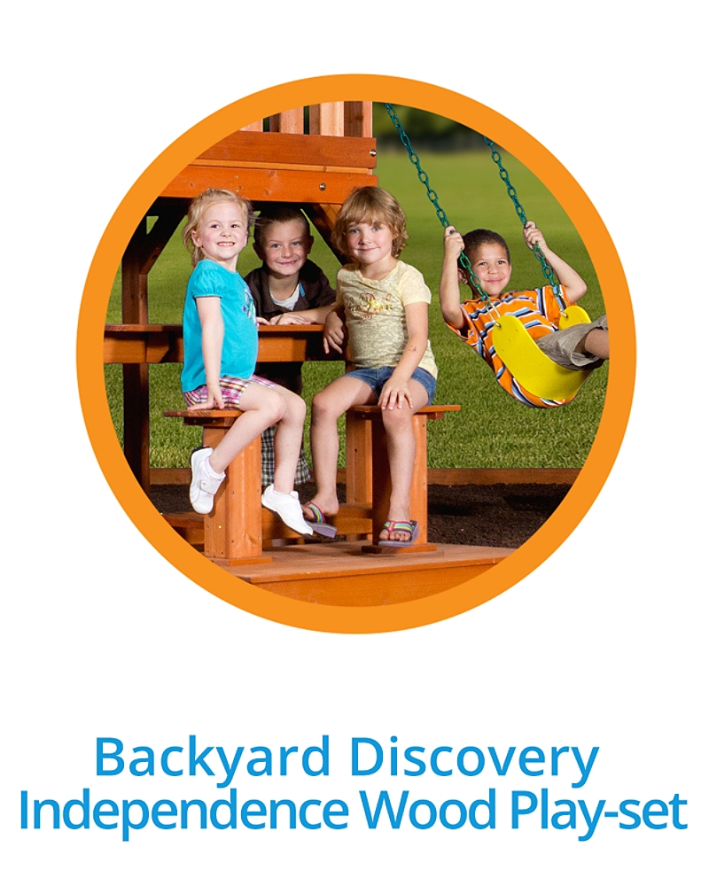 Backyard Discovery Independence Wood Play-set