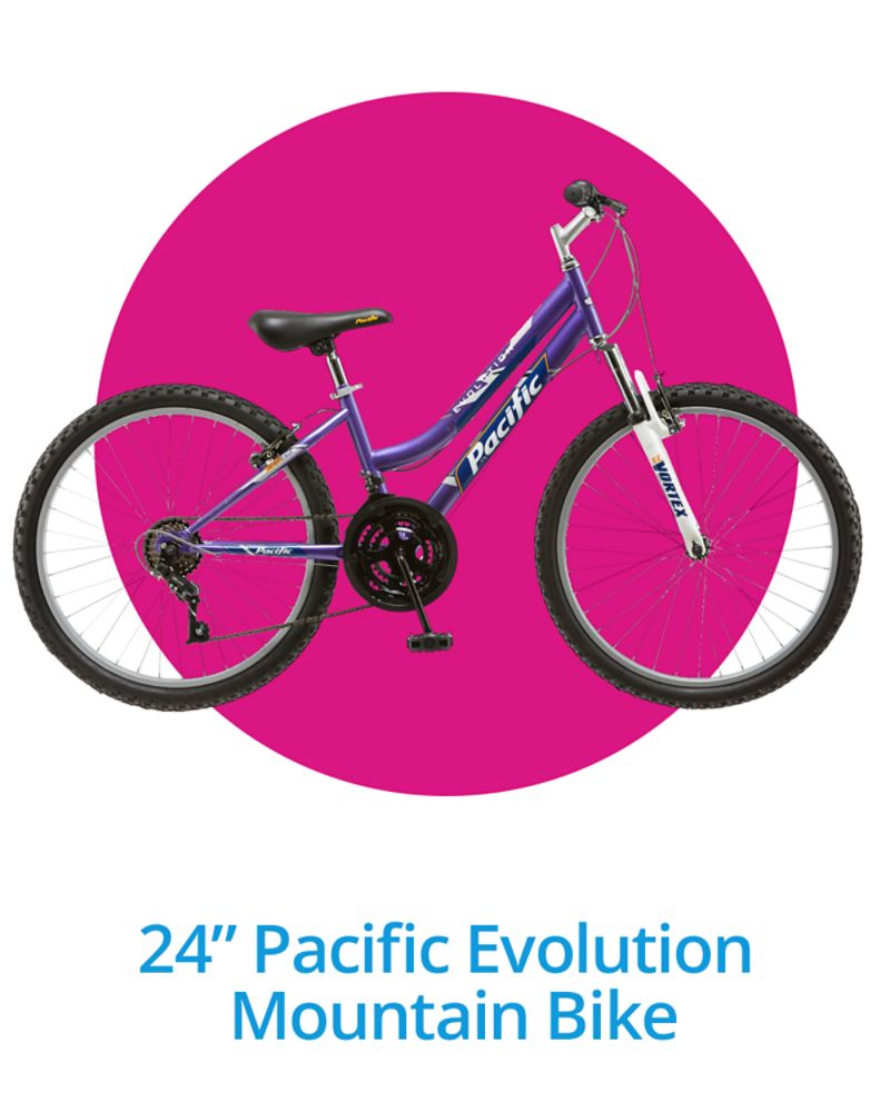 "24"" Pacific Evolution Mountain Bike"