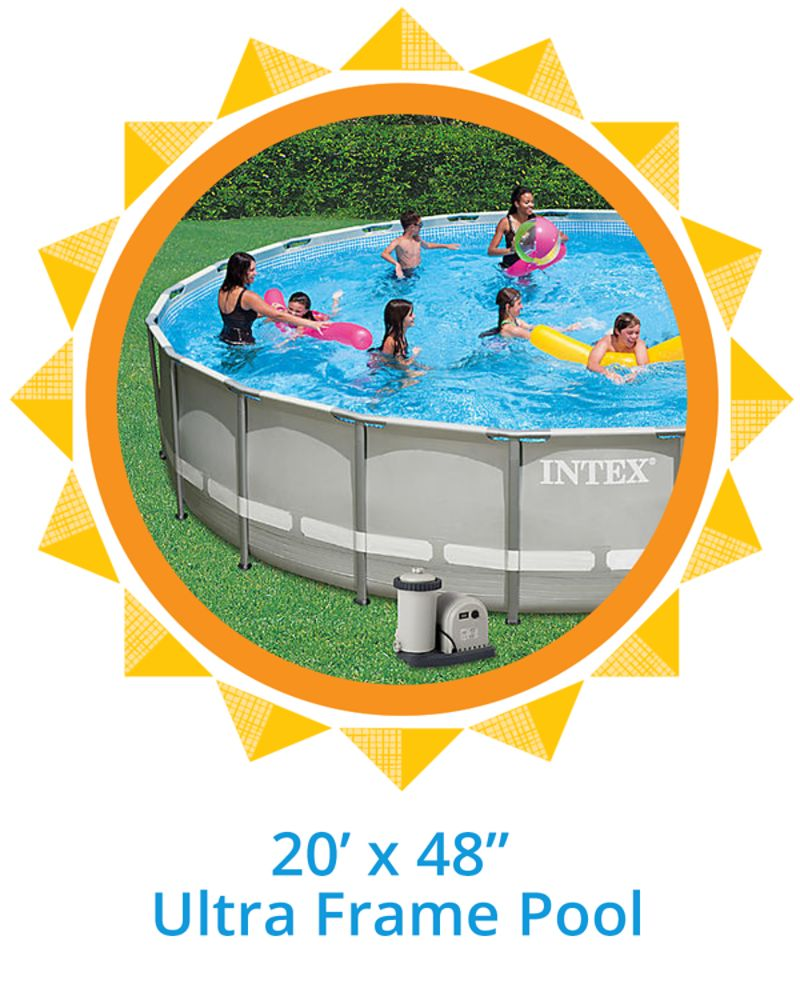 """20' x 48"""" Ultra Frame Pool"""