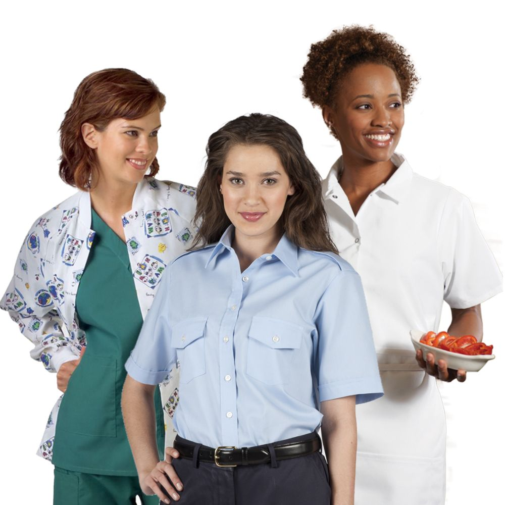 Women 39 s workwear work clothing for women at kmart for Kmart shirts for employees