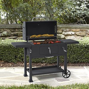"""Kenmore 61"""" Charcoal Grill With Charcoal Loading Tray"""