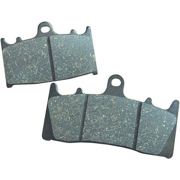 low metallic organic brake pads
