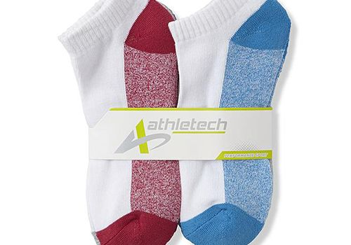 Athletech low cut socks