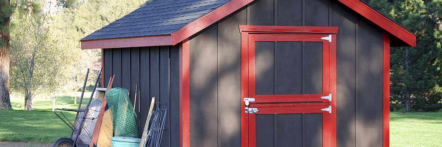 a beginner's guide to buying a shed