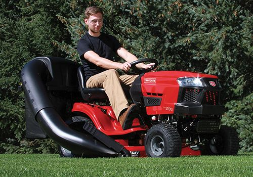 Riding Mower Buying Guide Buying A Riding Mower Sears