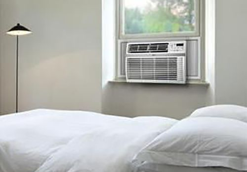 AC unit in a room