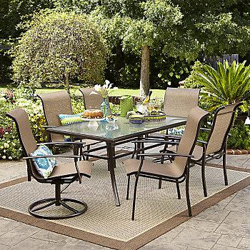 Garden Oasis Harrison 7-Piece Dining Set