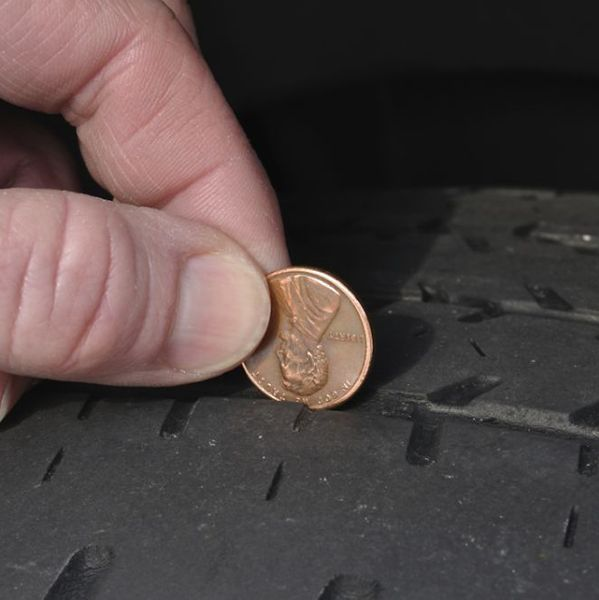 How to Check Tire Tread with a Penny - Sears