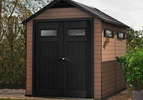 Wood Composite Shed