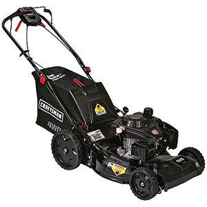 "Craftsman 37955 21"" 196CC Four Wheel Drive 3N1 Lawn Mower"