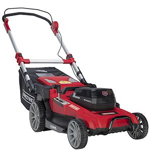 "Craftsman 60V MAX* Cordless 19"" Lawn Mower"