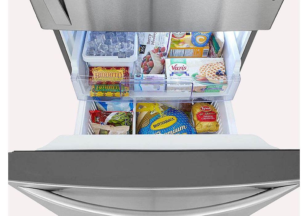 Pull-Out Freezer Door