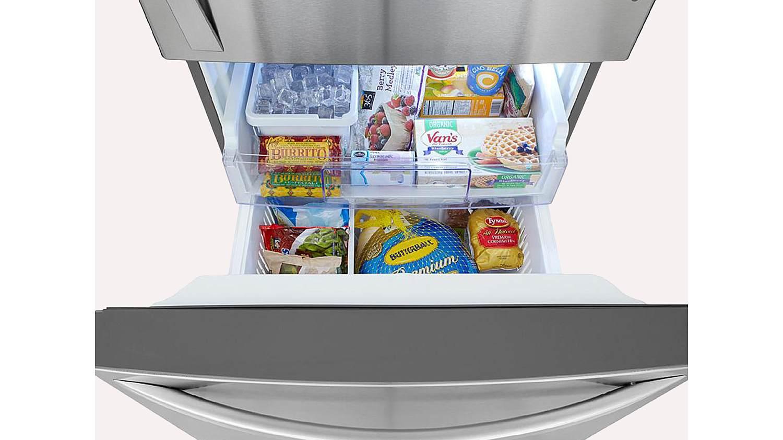 Pull-Out Freezer Door