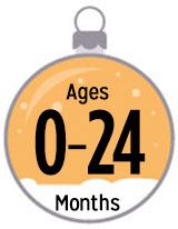 Ages 0-24 months
