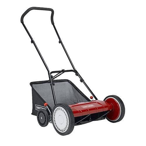 "Craftsman 37664 18"" Reel Mower with Bag"
