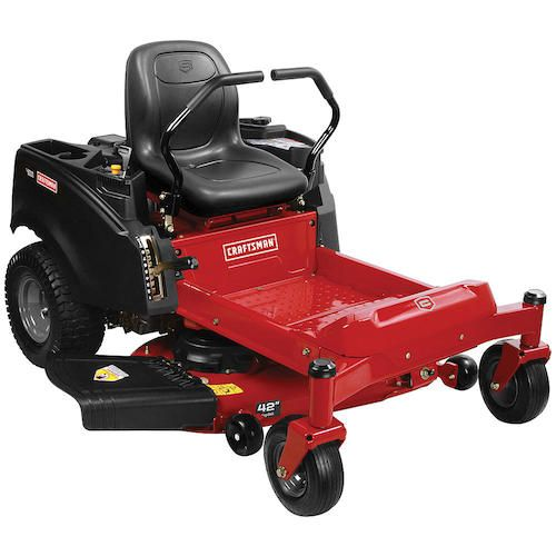 "Craftsman 20411 42"" 22 HP V-Twin Briggs & Stratton Zero-Turn Riding Mower"