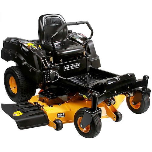 "Craftsman ProSeries 27052 54"" 25 HP V-Twin Kohler Fabricated Deck Zero Turn Riding Mower w/ Smart Lawn Bluetooth Technology"