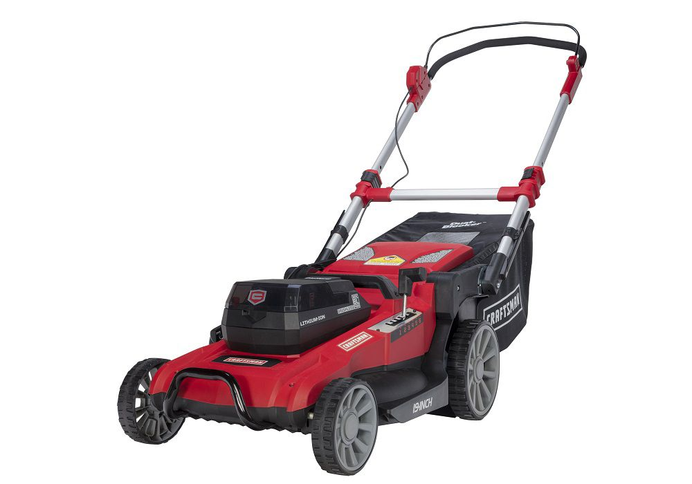Cordless rechargeable mower