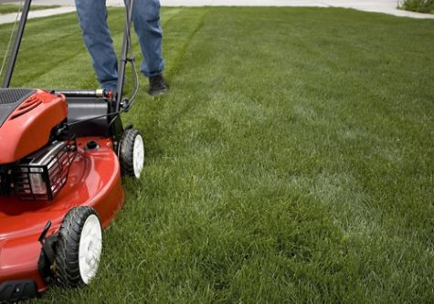Wear the proper lawn mowing clothing