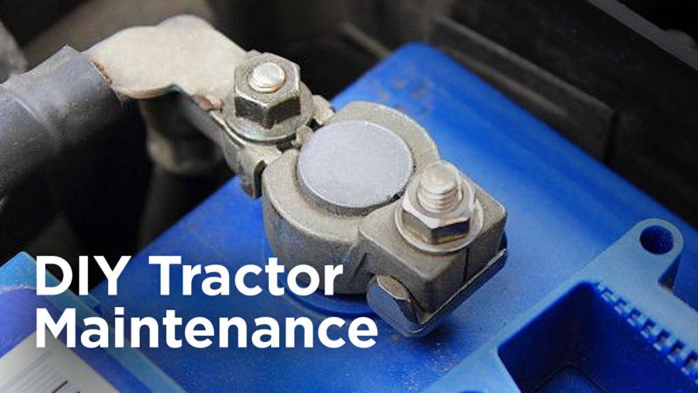 DIY Tractor Maintenance