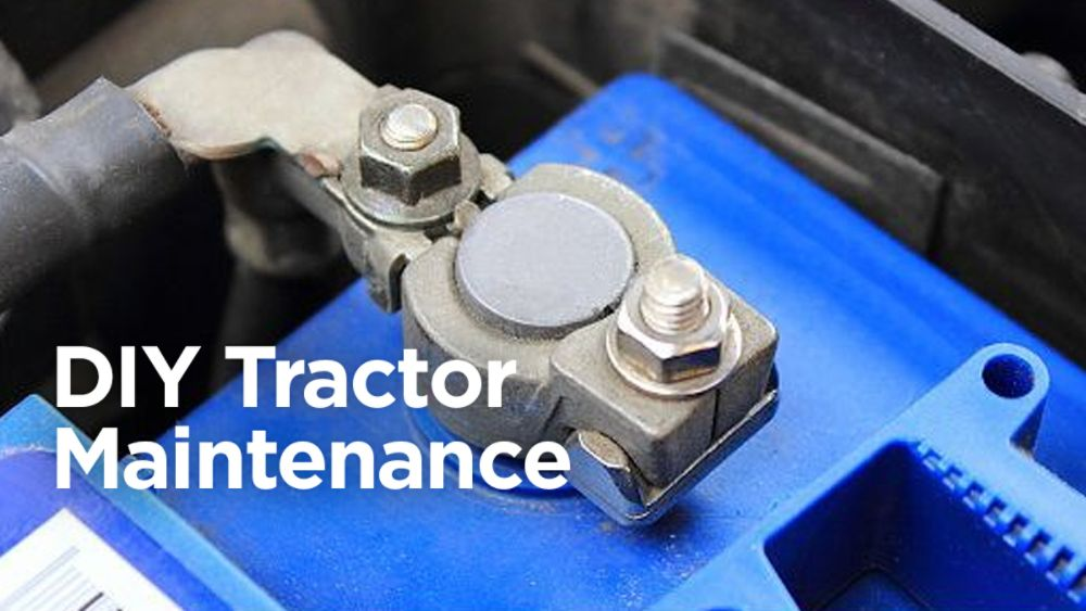 DIY Tractor Maintenance