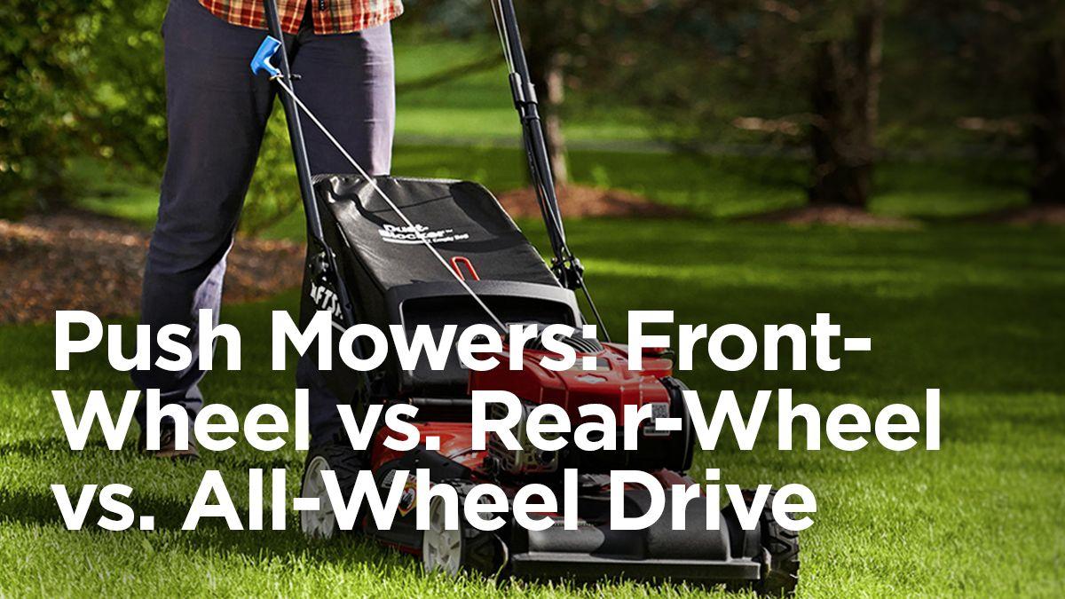 Front-Wheel vs. Rear-Wheel vs. All-Wheel Drive